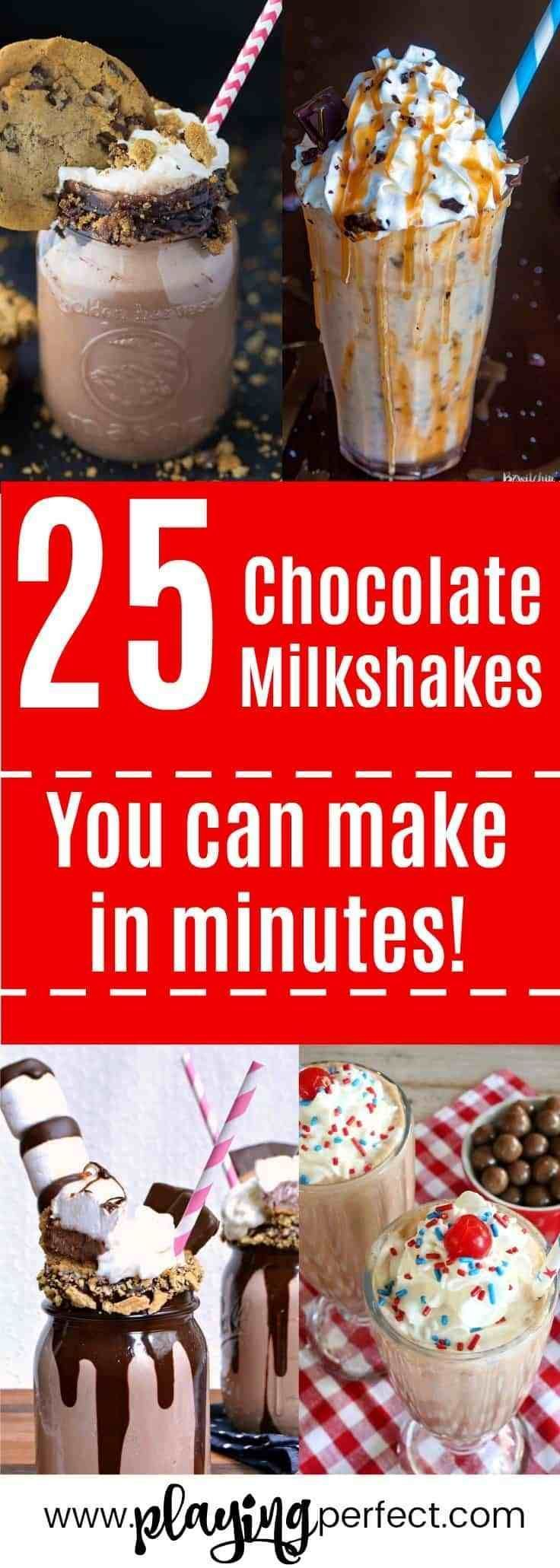 25 Chocolate Milkshakes That Will Make You Want To Lick The Glass