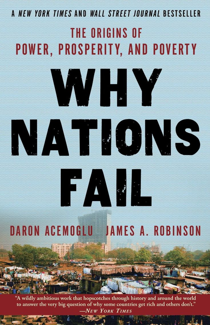 Why Nations Fail: The Origins Of Power, Prosperity, And Poverty ($1169)