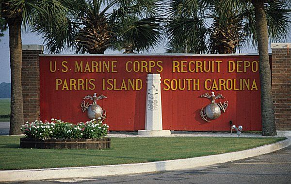 parris island, south caroina ...where my son graduated from boot camp as a Marine