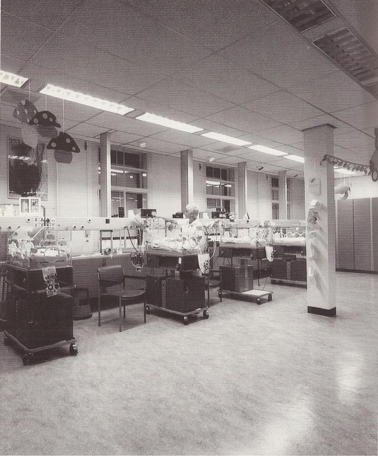 Sint Joseph ziekenhuis, NICU oudbouw. #ziekenhuis #MMC #gezondheidszorg 1989