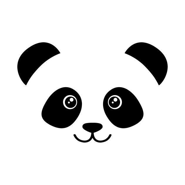 Check Out This Awesome Cute Panda Face Design On Teepublic Artes E Oficios Arte Com Rabiscos Silhuetas De Personagens Da Disney