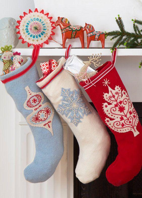 How to make a christmas Stocking - tutorial.