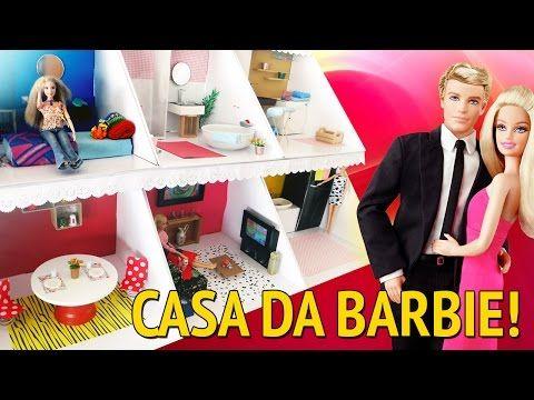 Casa da Barbie - Minha Cozinha - YouTube
