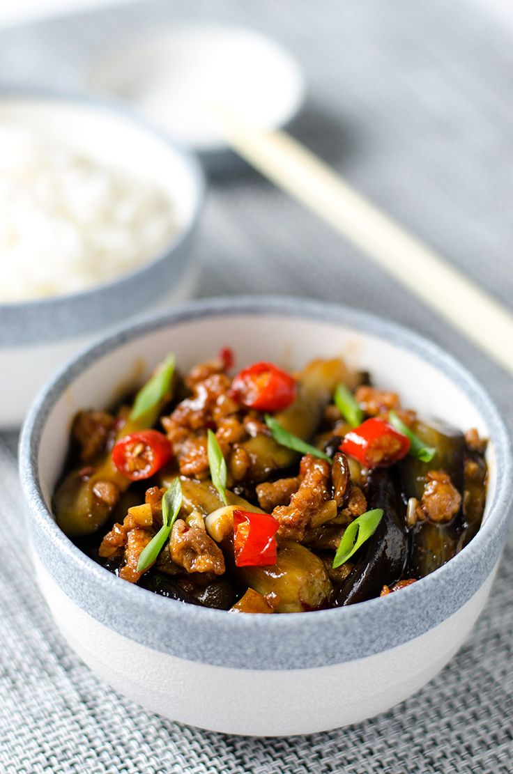 Fish Fragrant Eggplant | Omnivore's Cookbook. This has become one of my favorite dishes!
