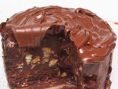 Torta ganache de chocolate