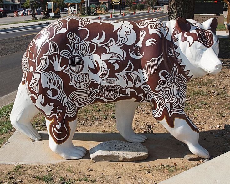 Cherokee Indian Art | Cherokee Art Bears - Roadside Wonders