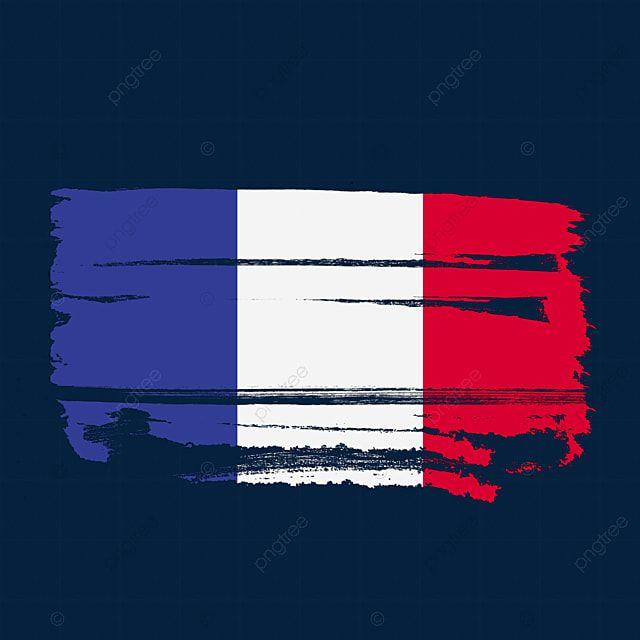Bandeira Da Franca Transparente Com Pincel De Pintura Em Aquarela Franca Bandeira De Francos Vetor De Bandeira Da Franca Imagem Png E Psd Para Download Gratu In 2020 Watercolour Painting France