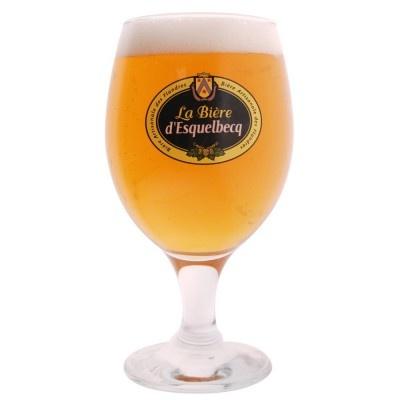 Verre bière Blonde D'esquelbecq