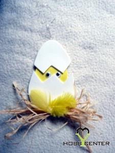 Kreatív ötletek Húsvétra: Dekorgumi tojás    http://www.hobbycenter.hu/Unnepek/dekorgumi-tojas.html