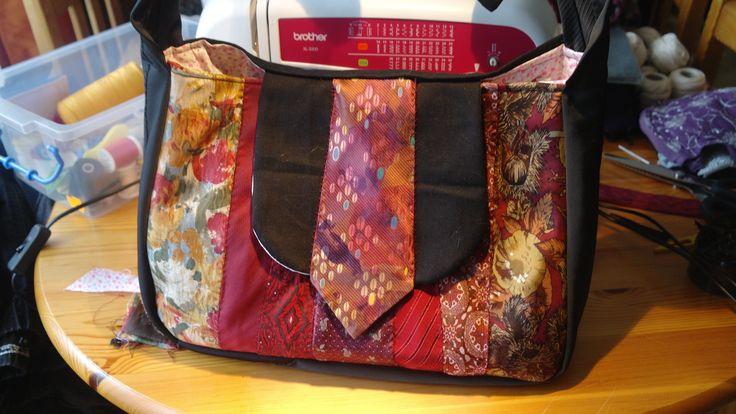 Mon 2émée sac en cravates