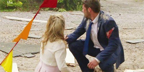 Victoria Sugden (Isabel Hodgins) & Aaron Livesy (Danny Miller) (Summer 2015)