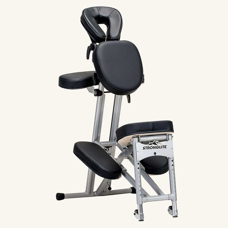 Stronglite Ergo Pro II Massage Chair Package - Front