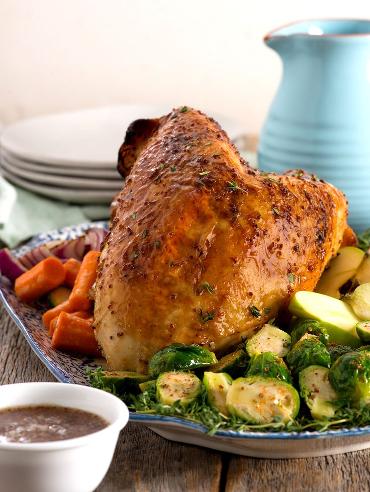 Apple-Cider Glazed Turkey Breast - Honeysuckle White® turkey