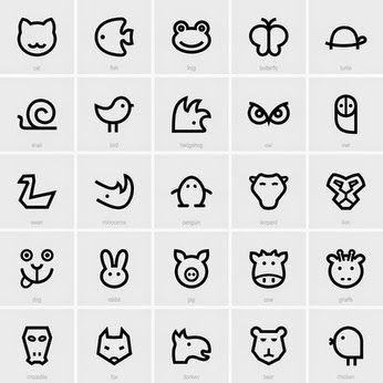 Motif Personnel: Concours de motifs #21 : pingouin, chat, lapin, panda, singe