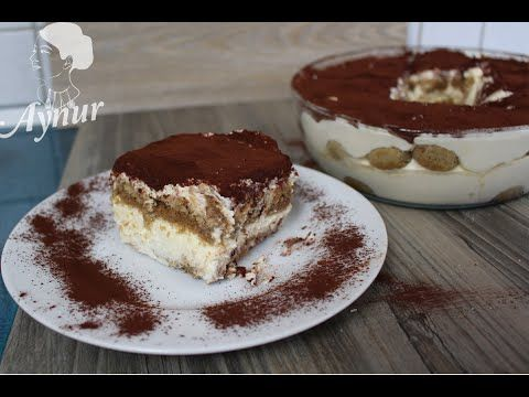 Orijinal Italyan Tiramisu tarifi | Kek ve Pasta Tarifleri - YouTube
