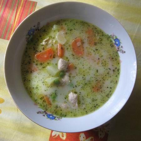 Tárkonyos csirkemell-leves Recept képpel -   Mindmegette.hu - Receptek