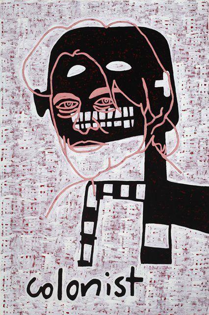 Gordon Bennett — Abstraction (Colonist) | Ocula.com