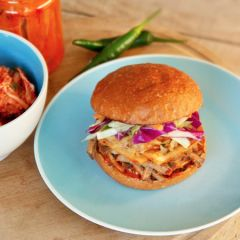 Pop-up stall: Tiger Burger - Just when you thought you'd consumed enough burgers off the grill, a new Korean-inspired variety has us hooked.