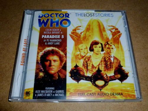 DOCTOR WHO: PARADISE 5 - Big Finish Lost Stories 2-CD COLIN BAKER | eBay