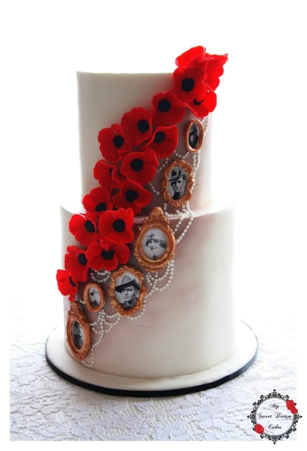 Remembering Our Anzacs - Cake by My Sweet Dream Cakes