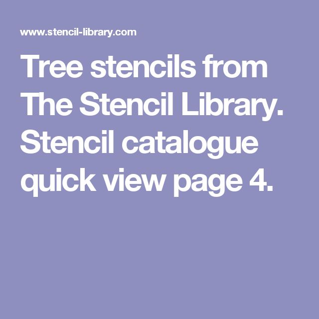 25 Best Ideas About Tree Stencil On Pinterest Cut Out