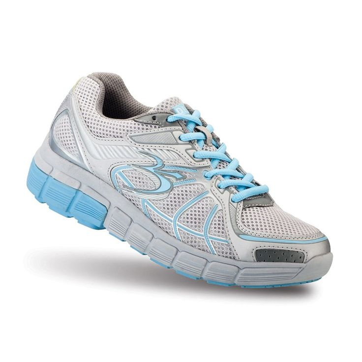 Gravity Defyer Women's G-Defy Super Walk Blue Gray Athletic Shoes ** Details can be found by clicking on the image.