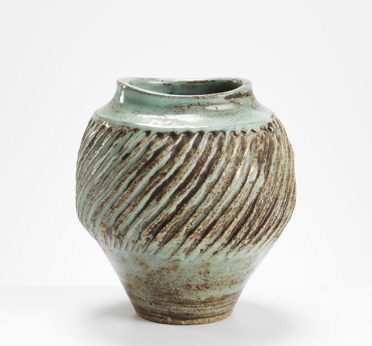 Lucie Rie Vase, c. 1955 Stoneware, 20 cm (h)