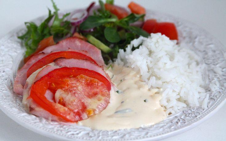 Kassler med mozzarela och tomat - Jennys matblogg