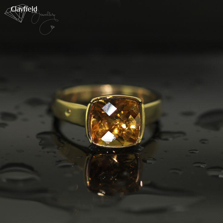 Beautiful citrine ring by Clayfield Jewellery in Nundah Village - North Brisbane