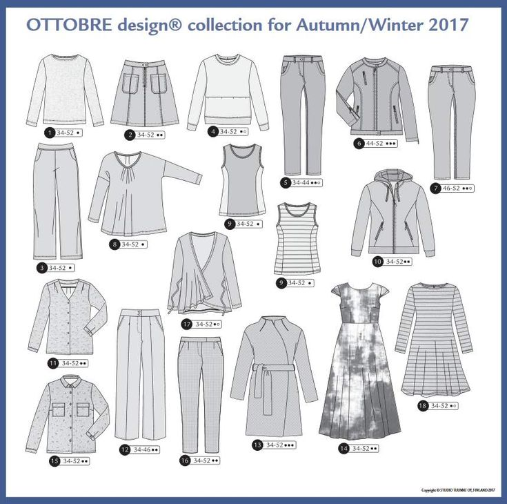Ottobre design 05/2017 Modelle