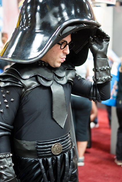 Repost: Dark Helmet from Spaceballs by sdoorly, San Diego Comic Con 2012, via Flickr