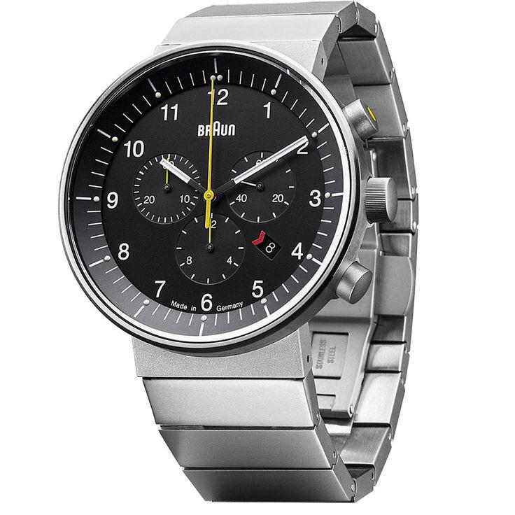 Braun Prestige Analog Chronograph Watch