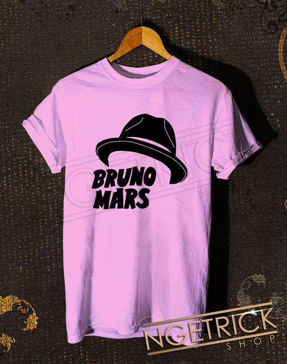 Bruno Mars Hat Women T-Shirt - Bruno MarsT-Shirt - Singer Design For Women T-Shirt (All Color Available) on Etsy, $17.98