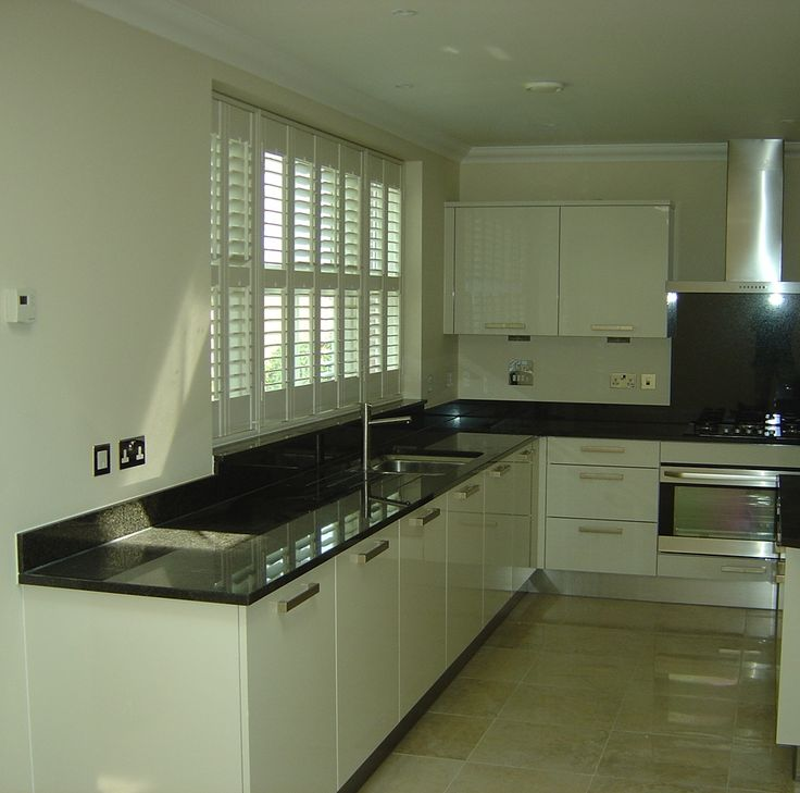 Kitchen Shutters, Our Plantation Shutters Are Made To Measure To Fit Every  Type Of Window. Wooden Shutters For Kitchens Are Popular As They Are Easy  To ...