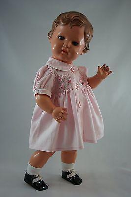 2 of 12: Schildkröt Puppe 49cm Erika alt antik 50er Jahre Celluloid Zelluloid top!