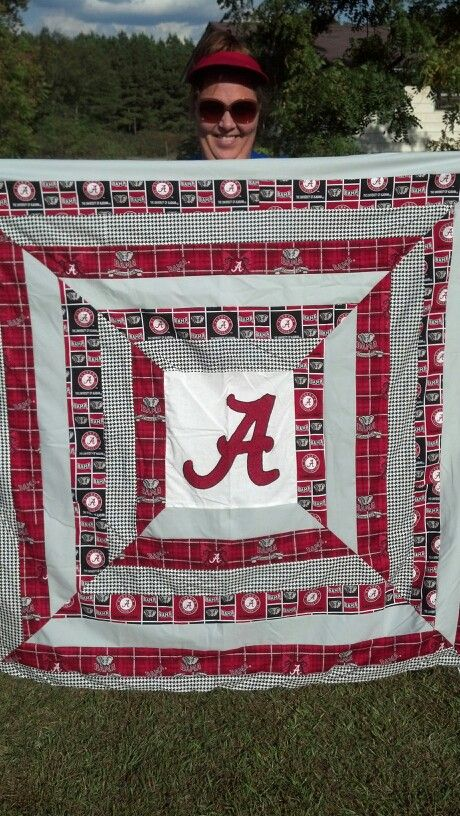 ALABAMA Quilt, full size bed size, $150, debit, credit, layaway