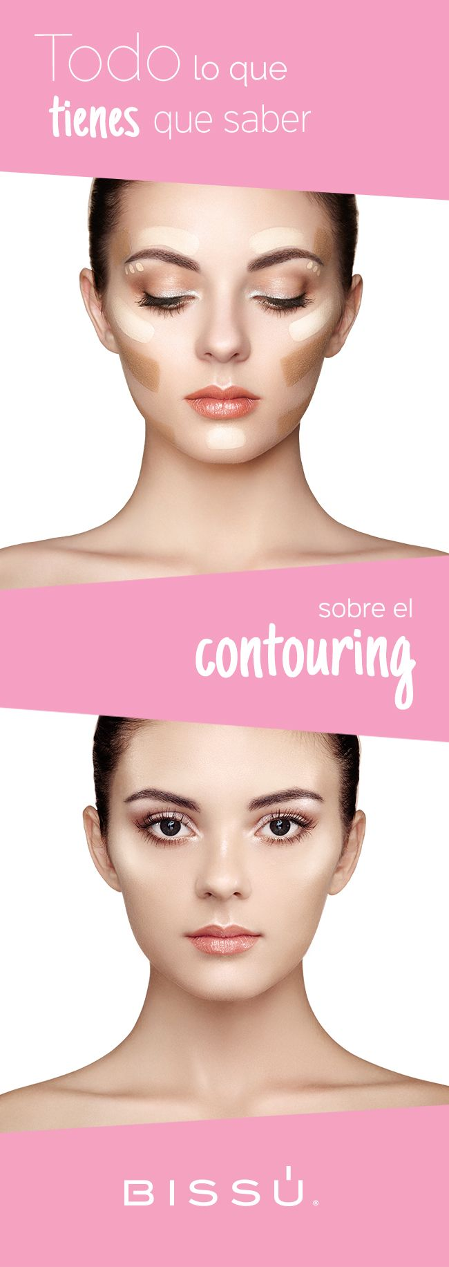 Deslumbra en donde quiera que vayas, aprende más sobre la técnica del Contouring. http://www.bissu.com/conoce-la-tecnica-de-maquillaje-contouring/