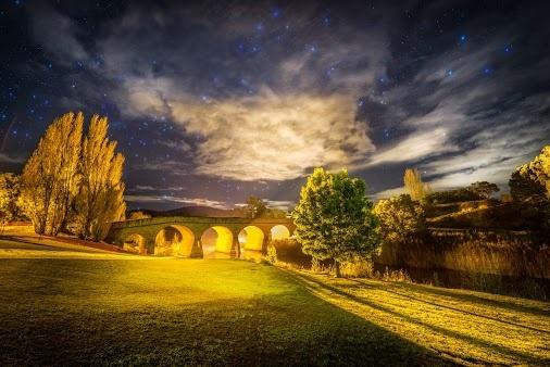 The oldest bridge in Australia - Richmond Bridge - Tasmania