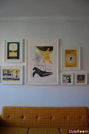 Bildresultat för tavelvägg över soffa