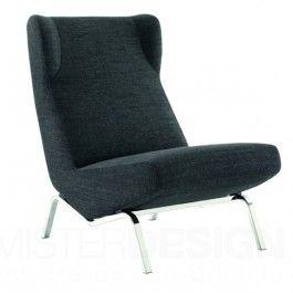 de archi fauteuil ontworpen door pierre paulin is een heruitgave van de cm194 hd stoel en de. Black Bedroom Furniture Sets. Home Design Ideas