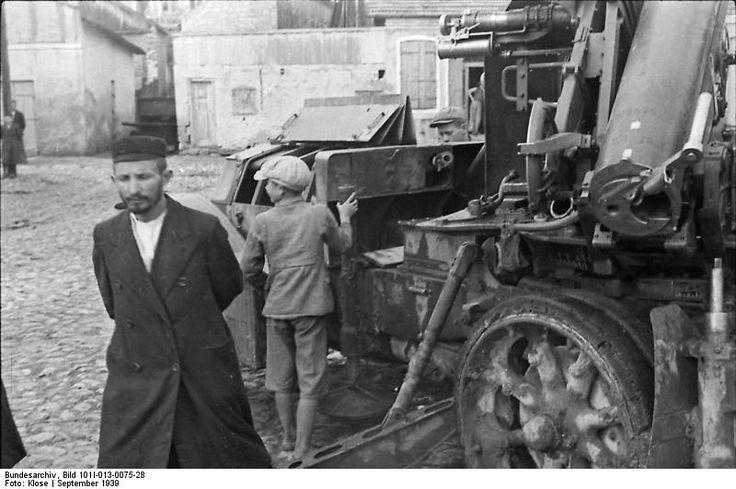 Bundesarchiv Bild 101I-013-0075-28, Polen, Jude in Kielce - 75 mm armata przeciwlotnicza mle 1897 – Wikipedia, wolna encyklopedia