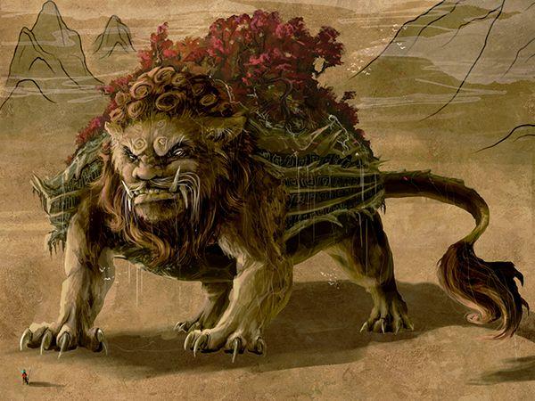 Tartaruga leão