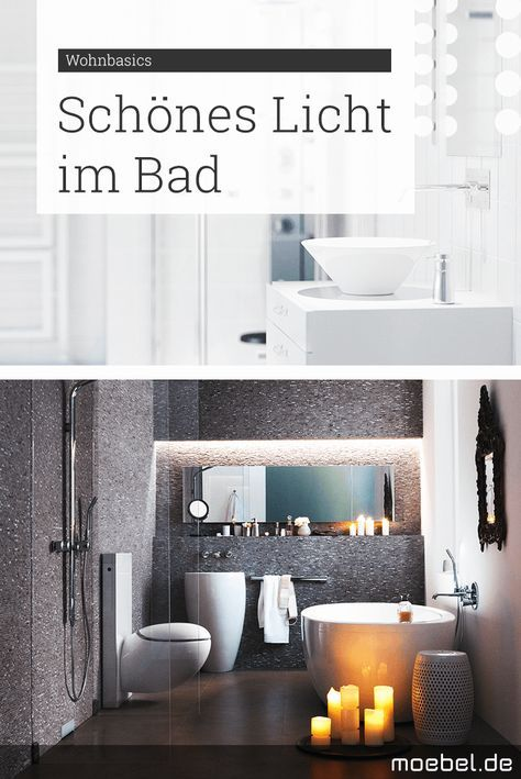 31 best Badezimmer-Träume images on Pinterest Room, Bathroom - lampe für badezimmer