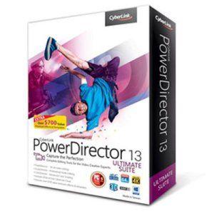 Cyberlink Powerdirector 13 Ultra – Logiciel de retouche et d'édition vidéo (français, WINDOWS) (ref : POWERDIRECTOR 13 ULTRA)