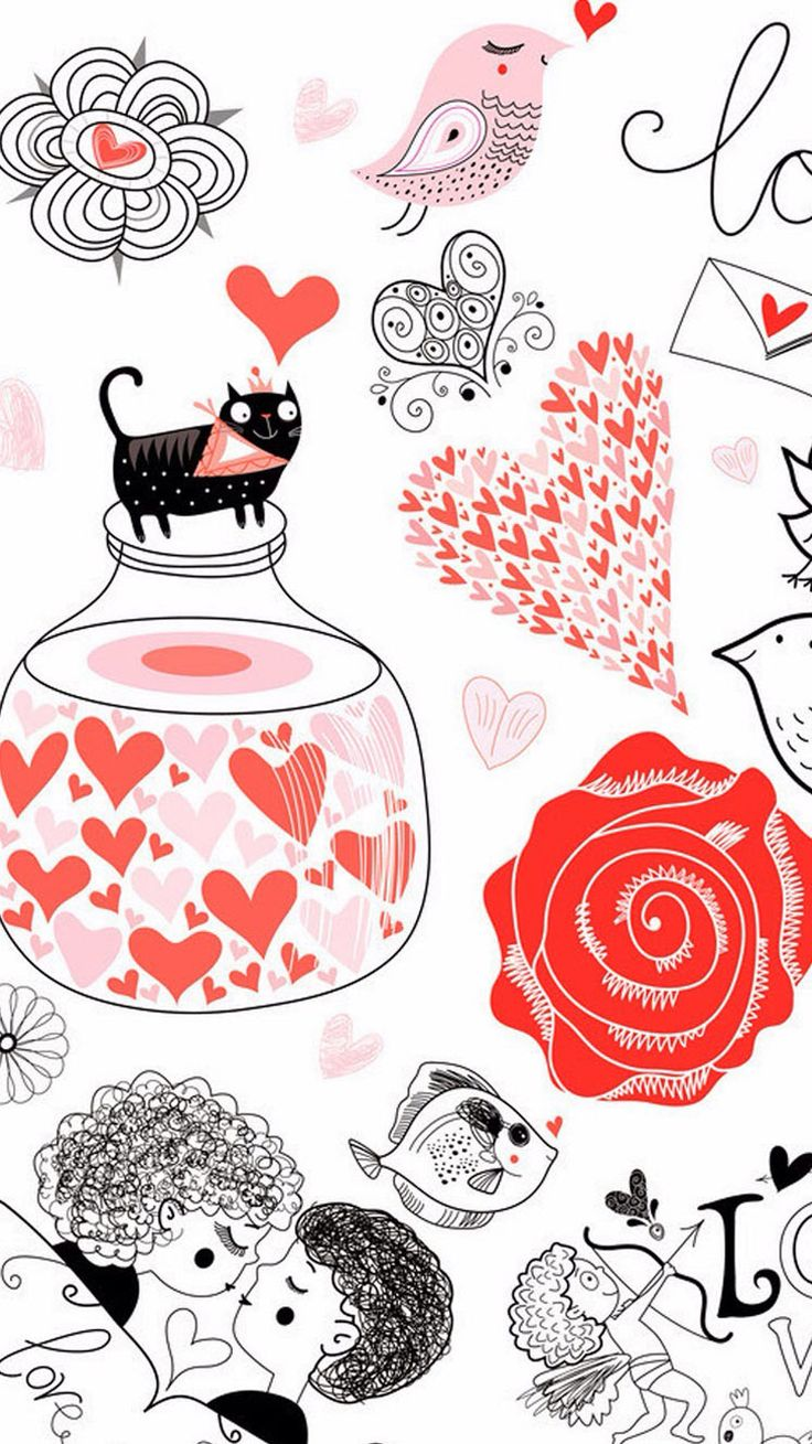 Romantic vintage seamless pattern. Tap image for more