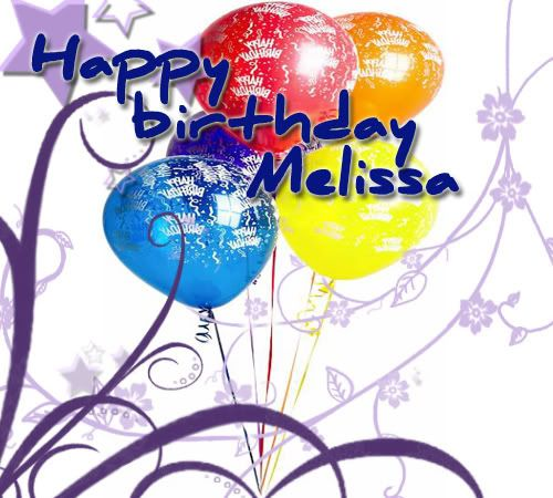 Happy Birthday Melissa Raising4birders Birds And