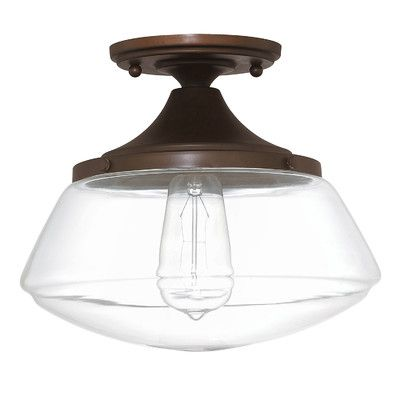 Modern diner flushmount ceiling light for over kitchen table and front entry