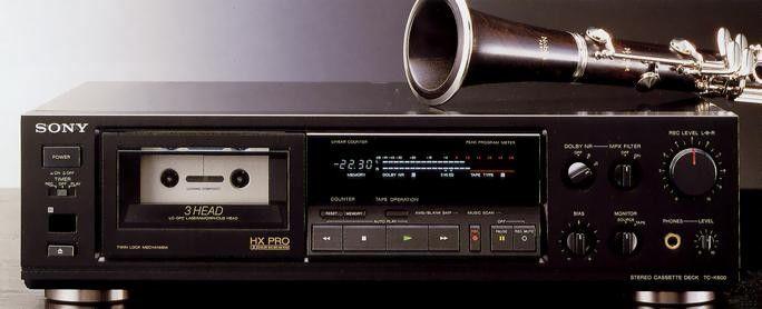 SONY TC-K600 (1988)