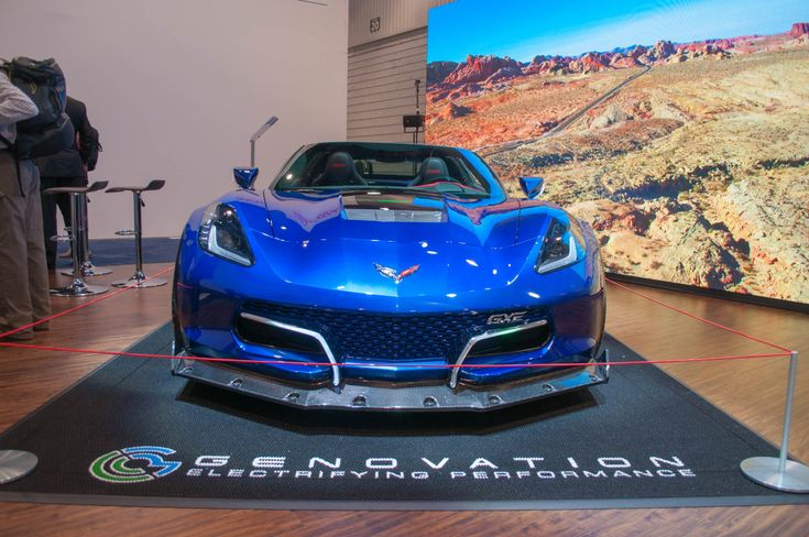 Genovation debuted its electric GXE sports car at the 2018 Consumer Electronics Show in Las Vegas earlier in the month, but now we finally have the first video of the silent beast on the road, cruising about Nevada's Valley of Fire no less. The b-roll footage—or should we say beauty-roll—simply shows the Chevrolet Corvette Grand Sport-based GXE…