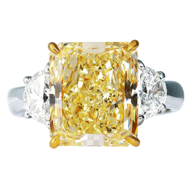 best 25 canary diamond rings ideas on pinterest yellow. Black Bedroom Furniture Sets. Home Design Ideas